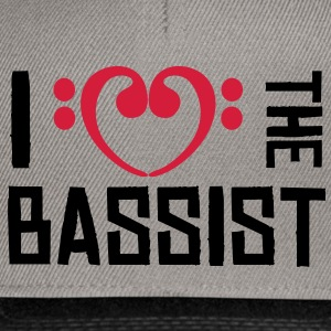 I love the Bassist Sweaters - Snapback cap