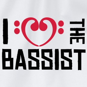 I love the Bassist T-Shirts - Sac de sport léger