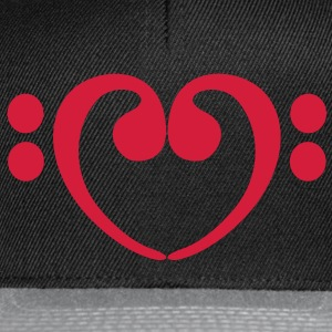 Bass Love Clef Pullover & Hoodies - Snapback Cap
