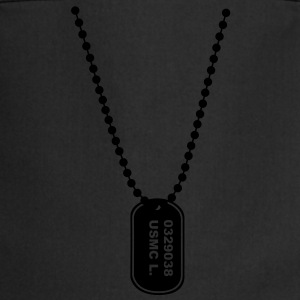 dog tag Tee shirts - Tablier de cuisine