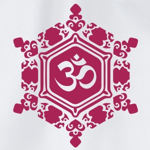 Water Crystal  LOVE / OM / Masaru Emoto / T-shirt - Sacca sportiva