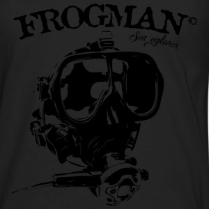 masque frogman Tee shirts - T-shirt manches longues Premium Homme
