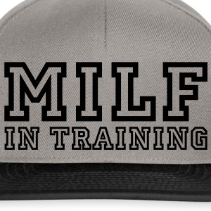 milf in training Sweat-shirts - Casquette snapback