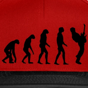 Guitar Player Evolution T-Shirts - Casquette snapback