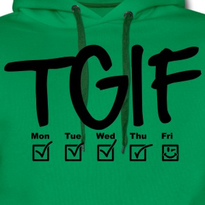 TGIF - Thank god it's friday T-shirts - Premiumluvtröja herr