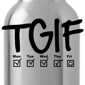 TGIF - Thank god it's friday T-shirts - Vattenflaska