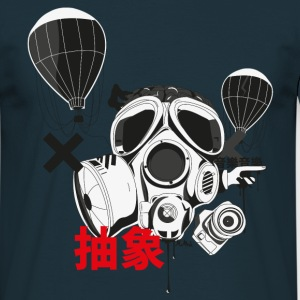 Abstract Gasmask Pullover & Hoodies - Männer T-Shirt
