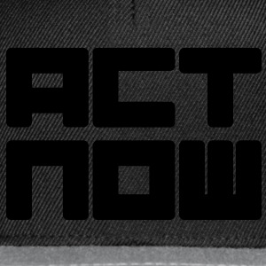 act now Sweaters - Snapback cap
