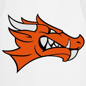 dragon face 3c Shirts - Cooking Apron
