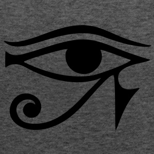 EYE of Horus/ Re, reverse moon eye of Thoth/ Hoodies & Sweatshirts - Women's Tank Top by Bella