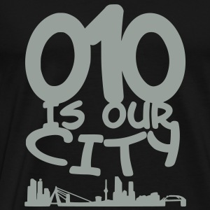 010 is our city Sweaters - Mannen Premium T-shirt
