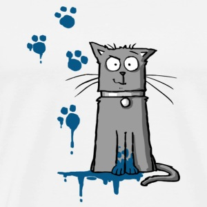 Walt the Cat - Mucky Paws Other - Men's Premium T-Shirt
