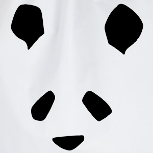 Simple Panda Hoodies & Sweatshirts - Drawstring Bag
