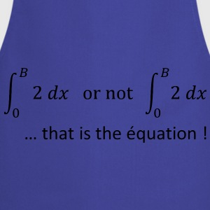 to_be_or_not_to_be_humour_maths Sweat-shirts - Tablier de cuisine