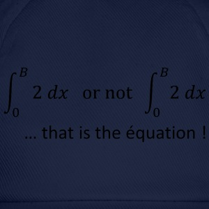 to_be_or_not_to_be_humour_maths Sweat-shirts - Casquette classique