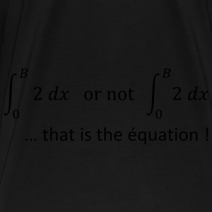 to_be_or_not_to_be_humour_maths Sacs - T-shirt Premium Homme