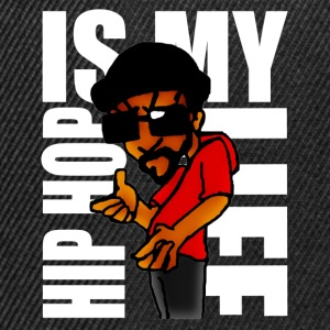 hip hop is my life Tee shirts - Casquette snapback