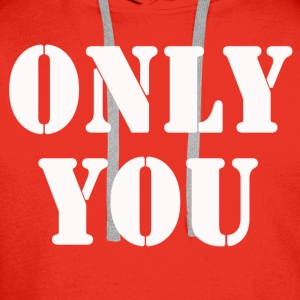 ONLY YOU Skjorter - Premium hettegenser for menn