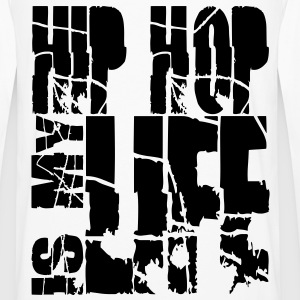 hip hop is my life Sweaters - Mannen Premium shirt met lange mouwen