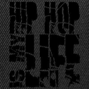 hip hop is my life Felpe - Snapback Cap