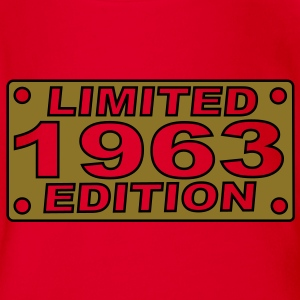 1963 limited edition Shirts - Baby bio-rompertje met korte mouwen
