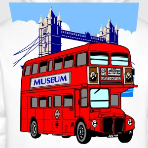 England London Big Ben Queens Guards bus london tower - Men's Premium Hoodie