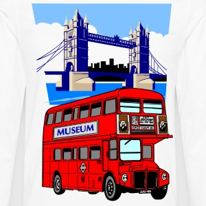 England London Big Ben Queens Guards bus london tower - Men's Premium Longsleeve Shirt