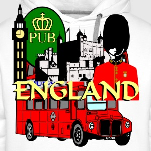 England London Big Ben Queens Guards london tower - Men's Premium Hoodie