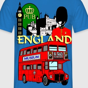England London Big Ben Queens Guards london tower - Men's T-Shirt