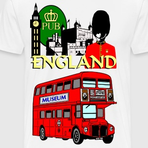 England London Big Ben Queens Guards london tower - Men's Premium T-Shirt
