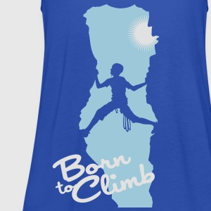 Born to climb - Women's Tank Top by Bella