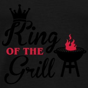 King of the Grill Sweatshirts - Herre premium T-shirt