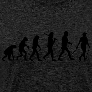 evolution of nordic walking Hoodies & Sweatshirts - Men's Premium T-Shirt