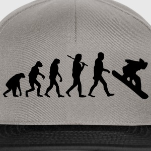 evolution of snowboarding Pullover & Hoodies - Snapback Cap