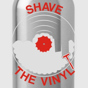 Black Shave the Vinyl Hoodies & Sweatshirts - Water Bottle