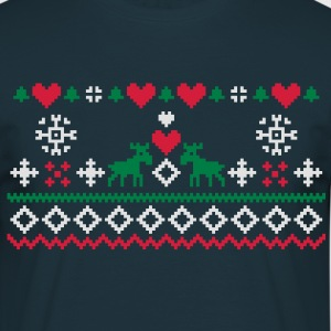 Christmas Embroidery  Aprons - Men's T-Shirt