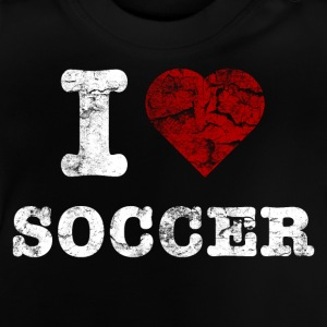 i_love_soccer_vintage_hell T-shirts - Baby T-shirt