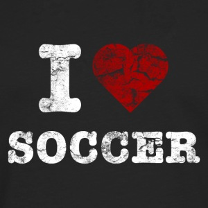i_love_soccer_vintage_hell Sacs - T-shirt manches longues Premium Homme