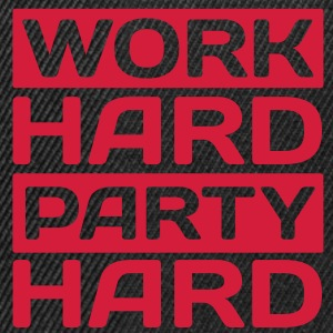 work hard party hard T-shirts - Snapback cap