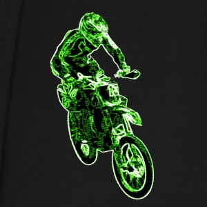 Enduro Jump Green Hoodies - Men's Premium T-Shirt