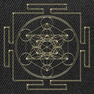 Yantra - Metatron`s Cube - Flower of Life / Sweat-shirts - Casquette snapback