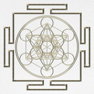 Yantra - Metatron`s Cube - Flower of Life / Hoodies & Sweatshirts - Baseball Cap