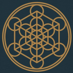Metatron`s Cube - Hypercube - Sacred Geometry  / Sweat-shirts - T-shirt Homme