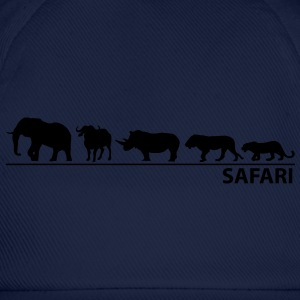 Safari - The big five - Baseballkappe