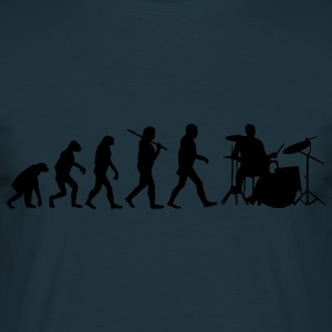 evolution of drums Hoodies & Sweatshirts - Men's T-Shirt