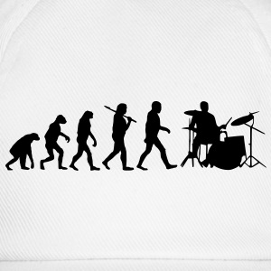 evolution of drums Hoodies & Sweatshirts - Baseball Cap