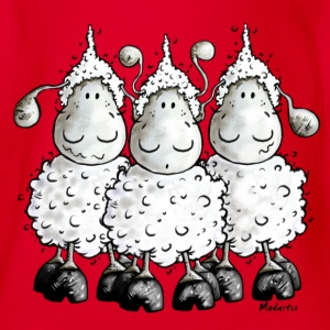 Mc Wool - sheep - mouton- moutons Tee shirts - Body bébé bio manches courtes