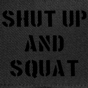 Shut Up And Squat Underkläder - Snapbackkeps