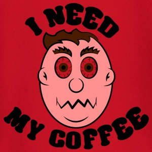 i need my coffee T-shirts - Långärmad T-shirt baby