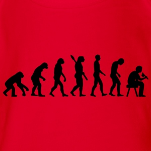 Tätowierer Evolution T-Shirts - Baby Bio-Kurzarm-Body